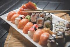 nya sushi Fotografering för Bildbyråer