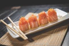 nya sushi Arkivfoto