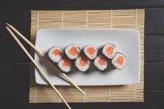 nya sushi Royaltyfri Fotografi