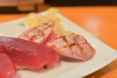 nya sushi Arkivfoton