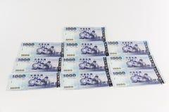 Nya taiwan dollar royaltyfri foto