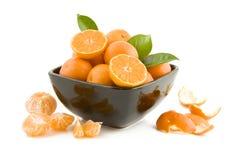 nya tangerines Arkivfoto