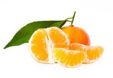 nya tangerines Royaltyfria Foton