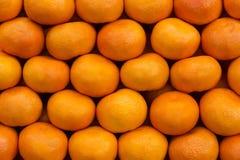 nya tangerines för grupp arkivbild