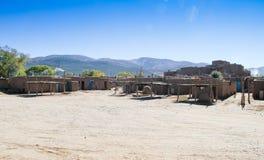 Nya Taos - Mexiko indierby Royaltyfria Foton