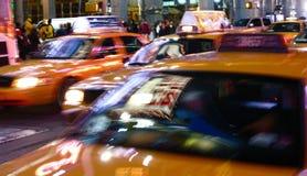 nya taxis york Fotografering för Bildbyråer