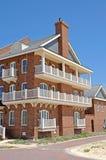 nya townhouses arkivbilder