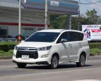 Nya Toyota Innova Crysta arkivfoton