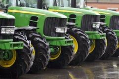 nya traktorer Arkivfoton