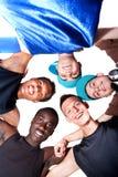 nya unga grupphöfttonåringar Arkivfoto