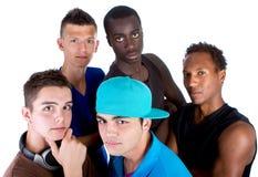 nya unga grupphöfttonåringar Royaltyfri Foto