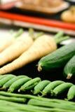 nya växta home grönsaker royaltyfri foto