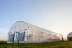nya växthus Fotografering för Bildbyråer