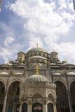 Nya Valide Sultan Mosque på en solig dag Royaltyfri Fotografi