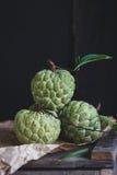 Nya vaniljsåsäpplen Arkivfoton