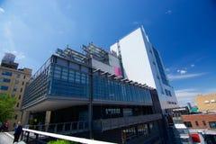 Nya Whitney Museum i NYC Royaltyfri Fotografi