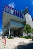 Nya Whitney Museum i NYC Arkivfoton