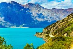 Nya Zeeland - sagolikt land royaltyfria foton