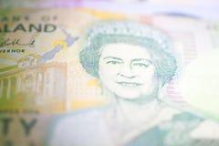 Nya Zeeland tjugo dollarsedlar Royaltyfri Foto