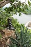 Nyaminyami, dios del río Zambezi Foto de archivo
