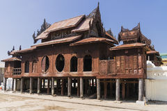 Nyan Shwe Kgua temple. Royalty Free Stock Photography