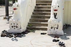 Nyan Shwe Kgua temple. Royalty Free Stock Photos