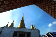 Nyanaves temple in Nakhon Pathom provice Stock Images