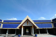 Nyanaves temple in Nakhon Pathom provice Stock Photos
