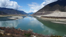 Tibet Nyang River Stock Photos