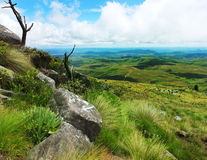 Nyanga Mountains. On a way to the highest peak in Zimbabwe Stock Photography
