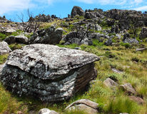 Nyanga Mountains. On a way to the highest peak in Zimbabwe Royalty Free Stock Photography