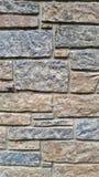 Nyanserad textur för tegelstenvägg Arkivfoto