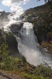 Nyastolfossen waterfall Stock Photo
