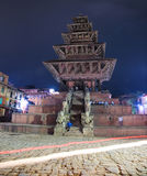 Nyatapola świątynia, Bhaktapur Durbar kwadrat, Nepal Zdjęcie Royalty Free