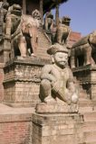 висок nyatapola bhaktapur Стоковое фото RF