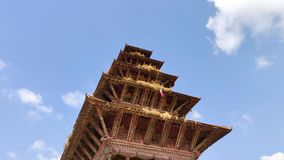 Nyatapola-Tempel in Nepal stock video footage