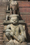 Nyatapola Temple in Bhaktapur Royalty Free Stock Photography