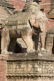 Nyatapola Temple in Bhaktapur Royalty Free Stock Photos