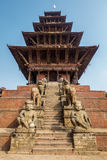 Nyatapola temple in Bhaktapur Royalty Free Stock Image