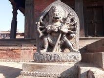 Nyatapola Temple Bodyguard at Bhaktapur. Nyatapola Temple is located at Bhaktapur, Nepal stock photos