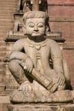 Nyatapola Temple In Bhaktapur Stock Photography