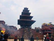 Nyatapola Temple Royalty Free Stock Images