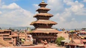 Nyatapola temple royalty free stock photos
