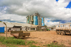Nyati milling plant in Zambia Royalty Free Stock Image