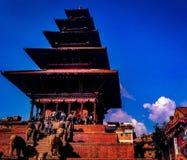 Nyatpola tempel arkivfoton
