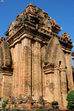 NyaTrang Ruins. Ruins of Asian Buddhist temple in vietnam Stock Photography