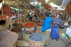 Nyaung U market, Bagan, Myanmar Stock Images