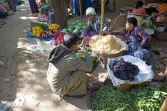 Nyaung U market, Bagan, Myanmar Stock Image