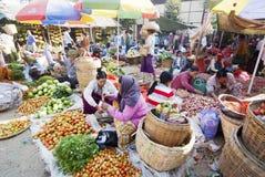 nyaung u myanmar рынка Стоковое фото RF