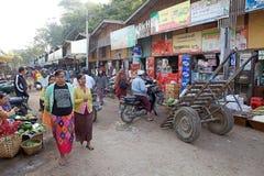 Nyaung village, Bagan, Myanmar Royalty Free Stock Photography